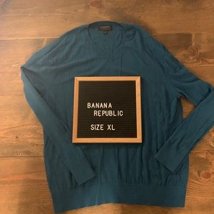 Banana Republic Luxe V Neck Sweater